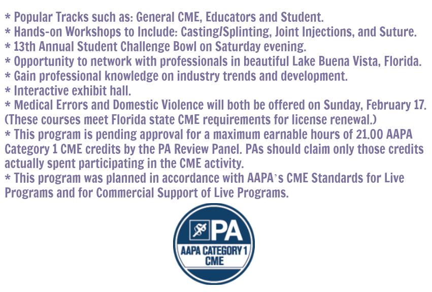 FAPA 2019 Winter Program Highlights 2