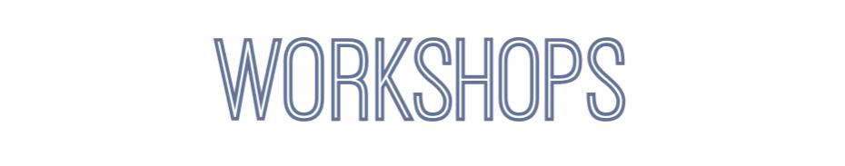 FAPA 2019 Winter - Workshops