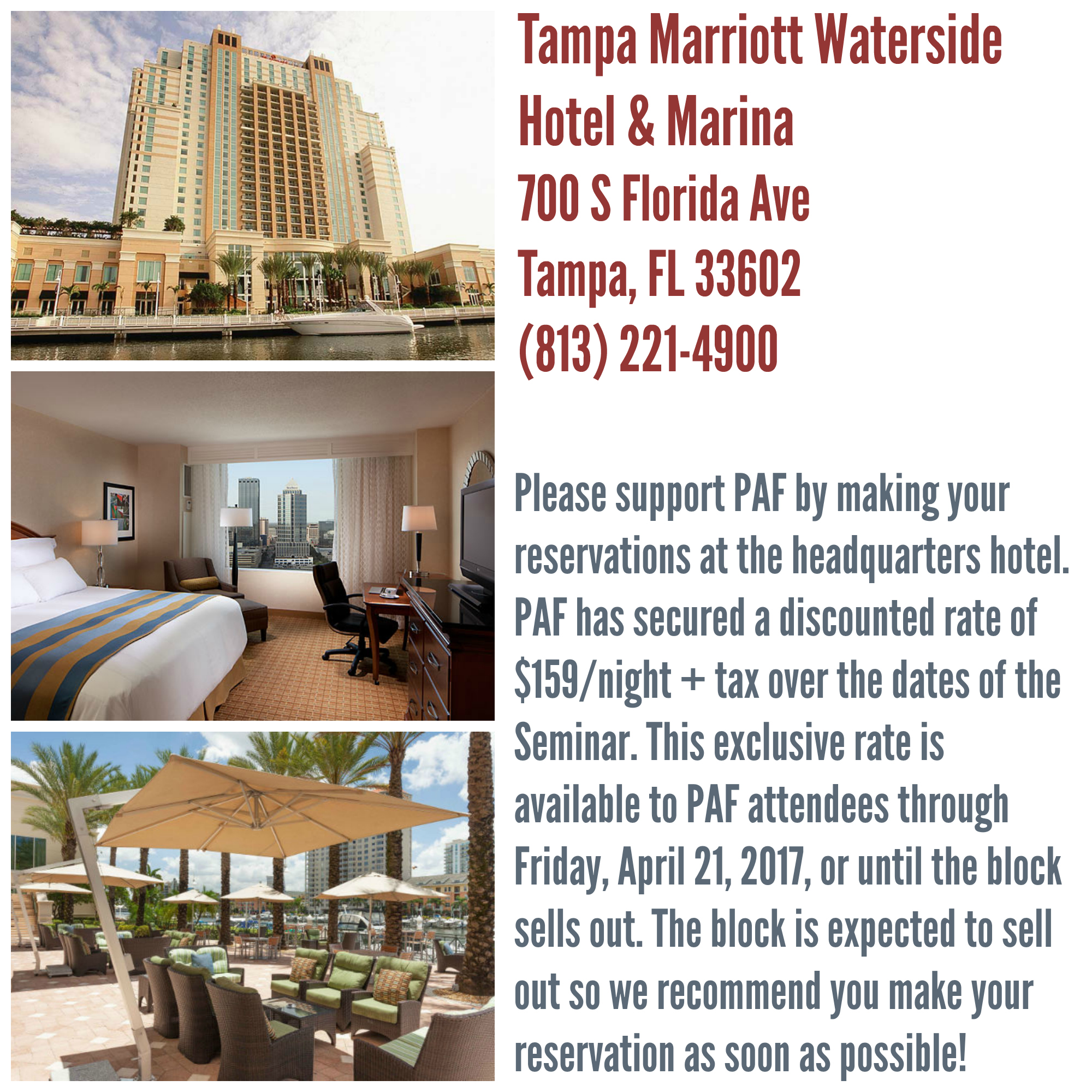 PAF Hotel Info