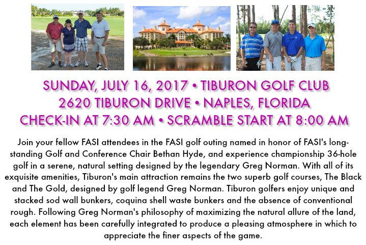 FASI Golf Info