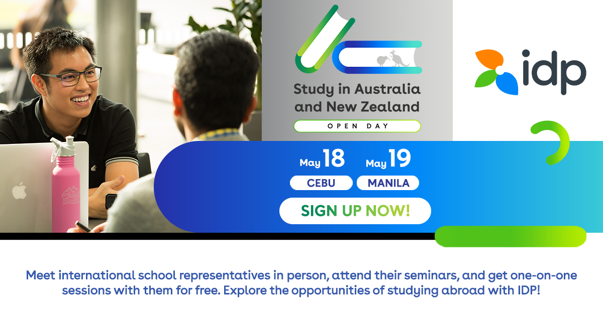 Open Day: Study in Australia and New Zealand   May 2019