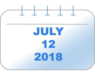 July 12, 2018