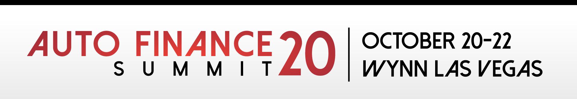 Auto Finance Summit 2020