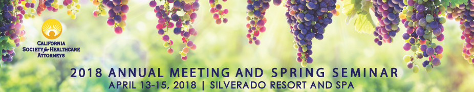 2018 CSHA Annual Meeting and Spring Seminar