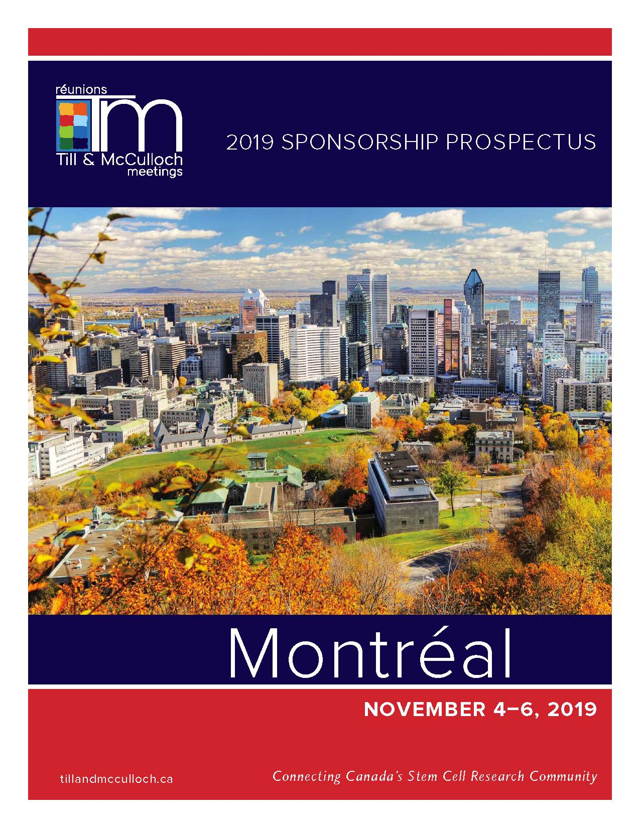TMM2019 Sponsorship Prospectus FRONT PAGE