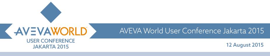 AVEVA World User Conference Jakarta 2015