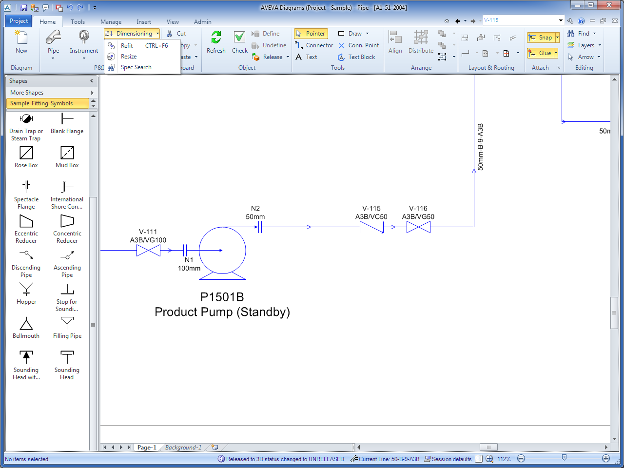 Catalogue Manager - AVEVA Diagrams 14.1 - Cataloug