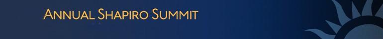 2019 Shapiro Summit & CEO Round Table - Anaheim, CA