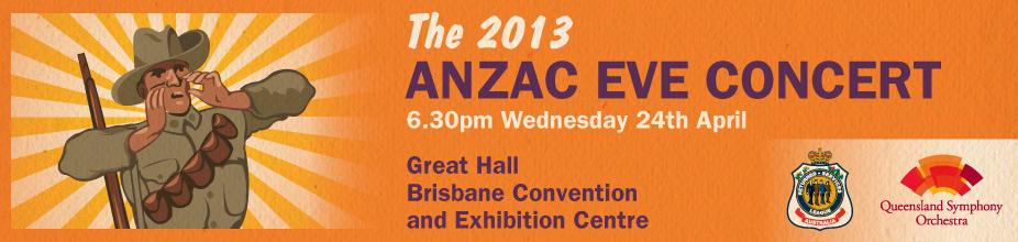 2013 ANZAC Eve Concert