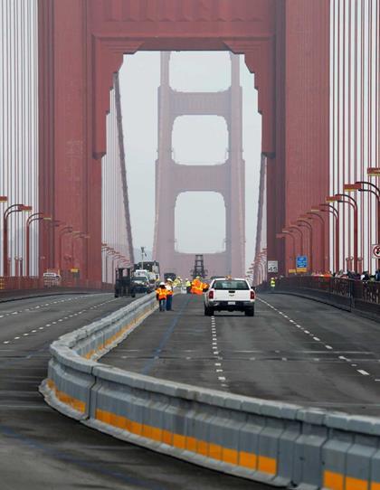 Golden Gate Lane Barrier