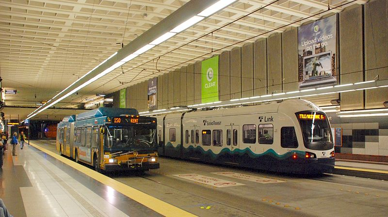 Seattle Transit Station