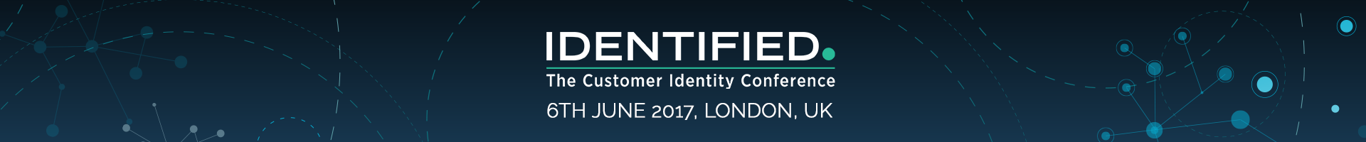 IDENTIFIED. The Customer Identity Conference