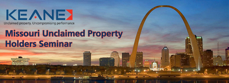Missouri Unclaimed Property Holders Seminar