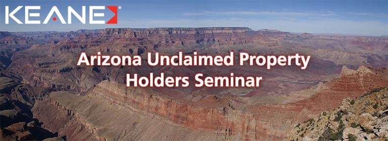 Arizona Unclaimed Property Holders Seminar