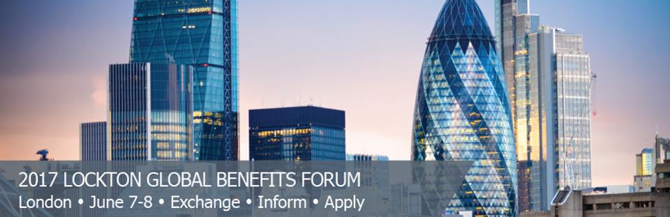 2017 Lockton Global Benefits Forum - London
