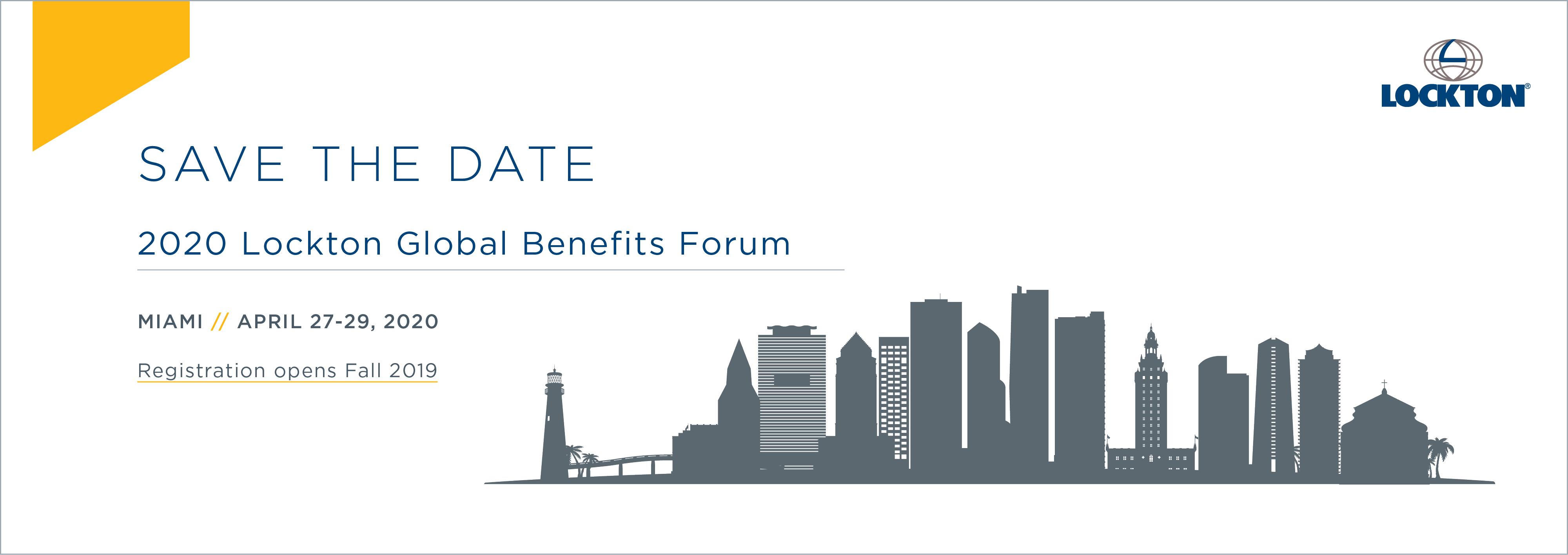 2019 Lockton Global Benefits Forum - Chicago