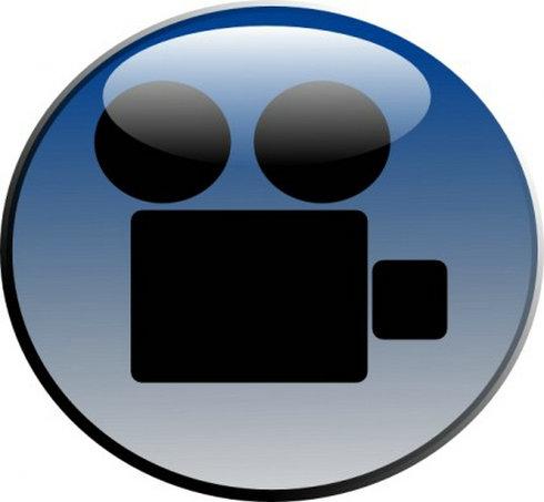 Video-Camera-Glossy-Icon-Clip-Art