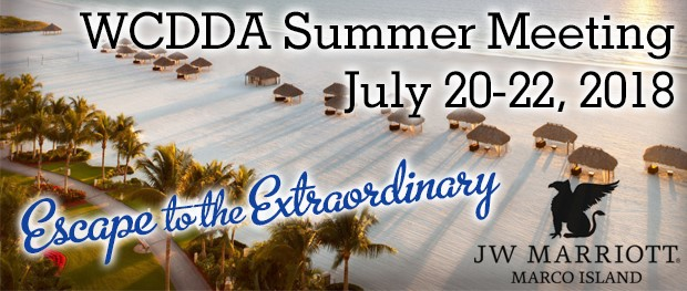 WCDDA's Annual Summer Meeting 2018