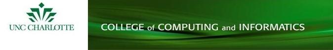 UNCC-CCI web page banner invite
