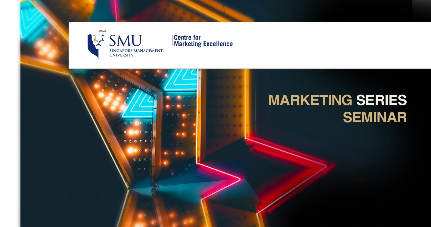 Marketing Series Seminar