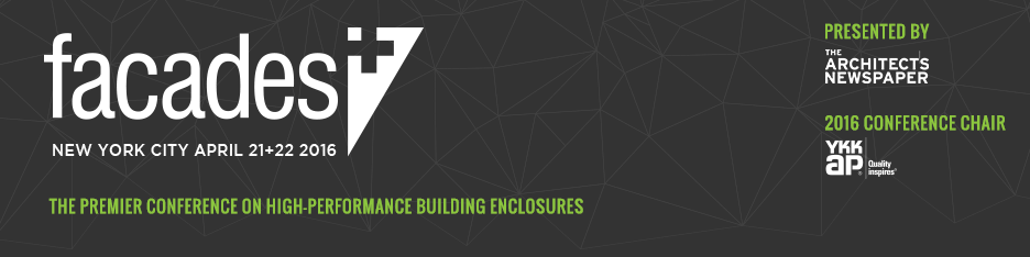 Facades+ Conference: New York City 2016 (Sponsors & Presenters)