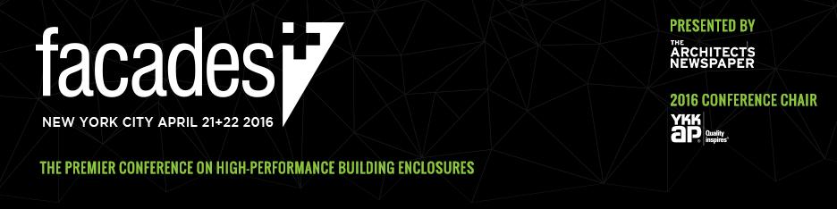 Facades+ Conference: New York City 2016