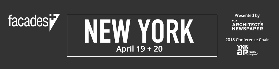 Facades+ Conference: New York 2018