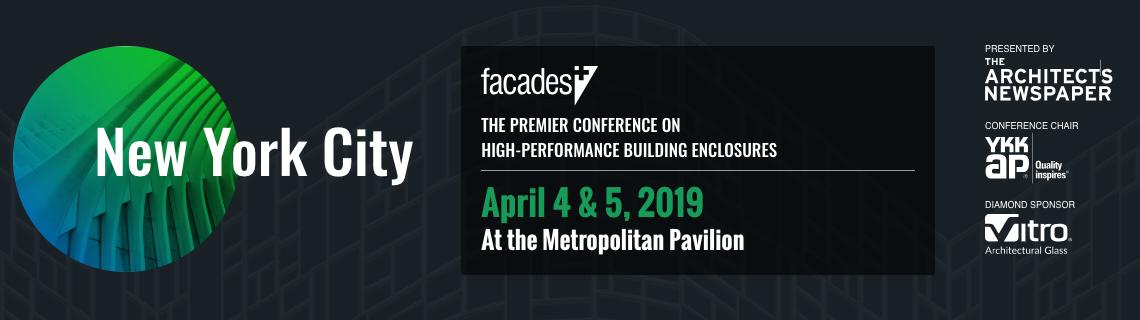 Facades+ Conference: New York 2019