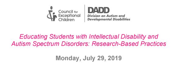 2019 DADD Mini-Conference