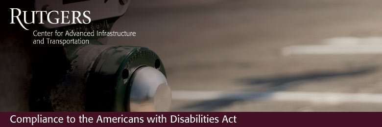 Compliance to the Americans with Disabilities Act (ADA) in the Public Right-of-Way--February 23, 2018