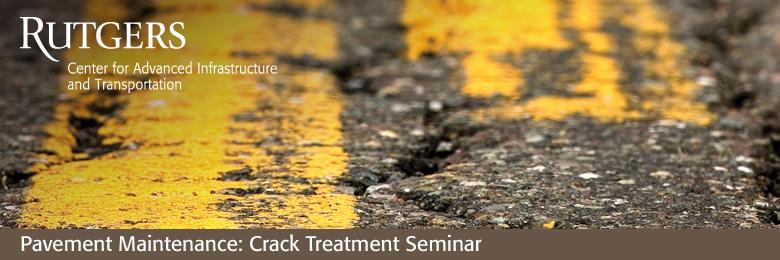 Pavement Maintenance: Crack Treatment Seminar--May 31, 2018