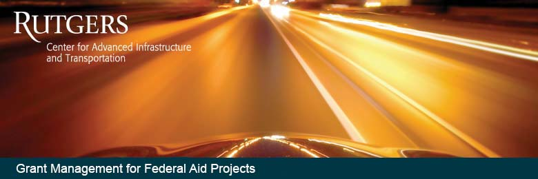 Grant Management for Federal Aid Projects--October 25, 2016