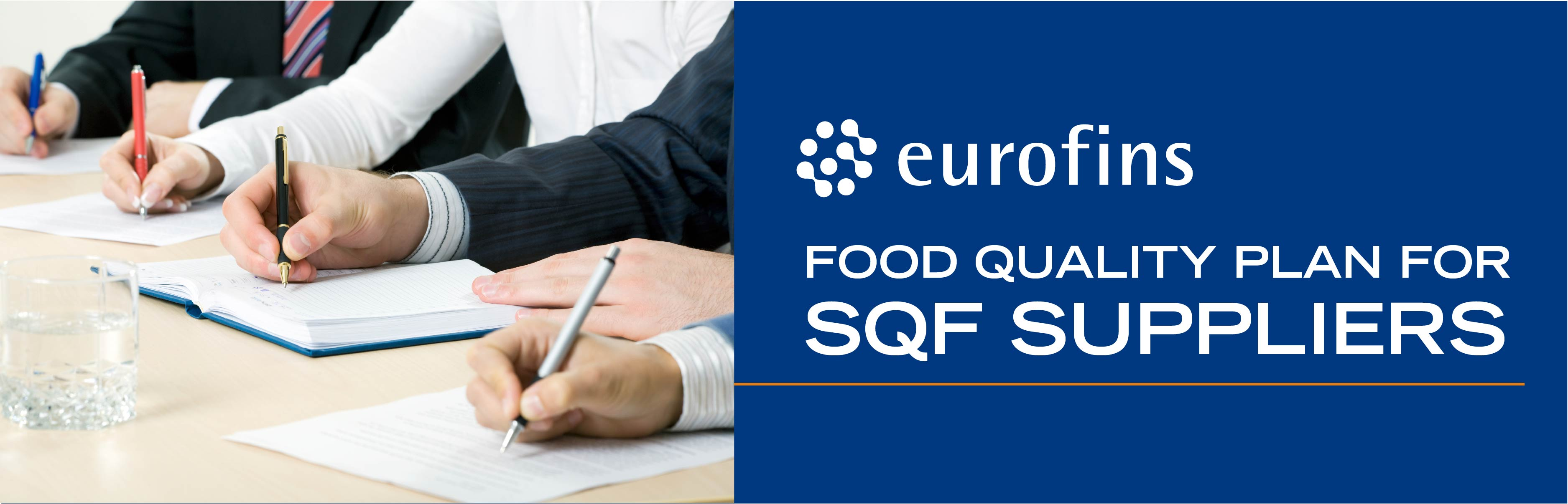 Food Quality Plans for SQF Suppliers