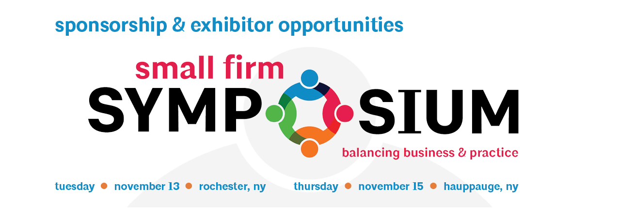 2018 Small Firm Symposium Exhibitor & Sponsor Prospectus
