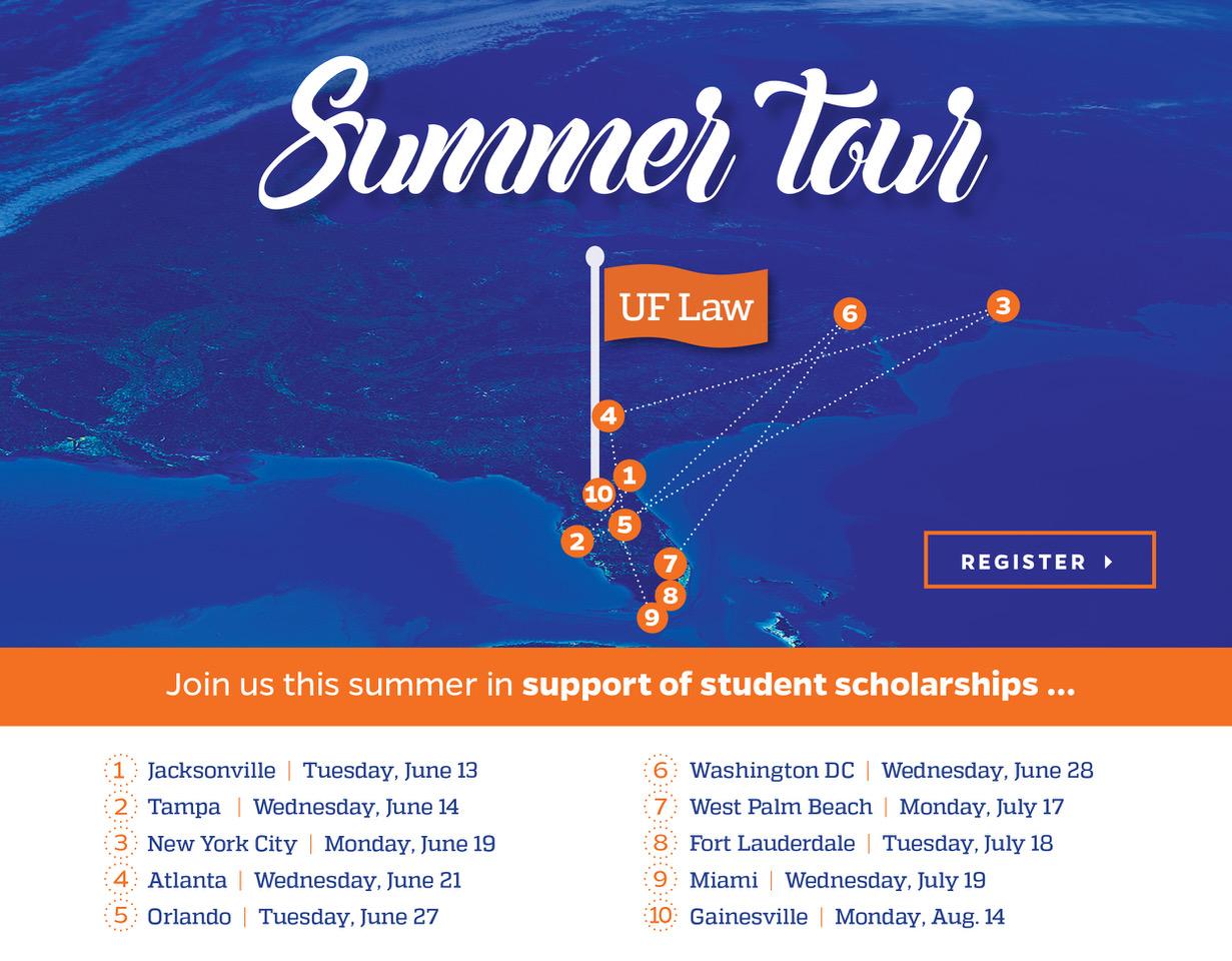 UF Law Summer Tour