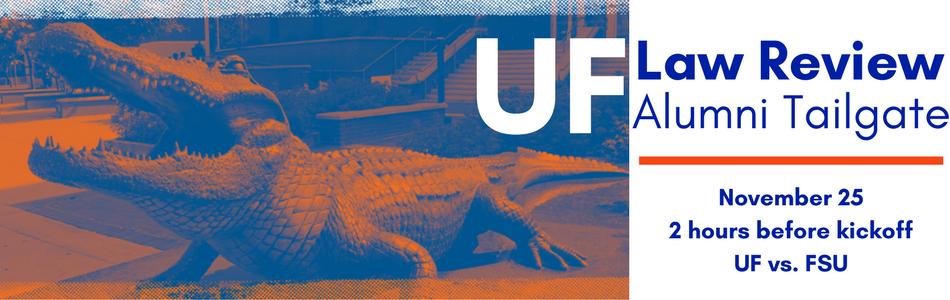 UF Law Review Alumni Tailgate