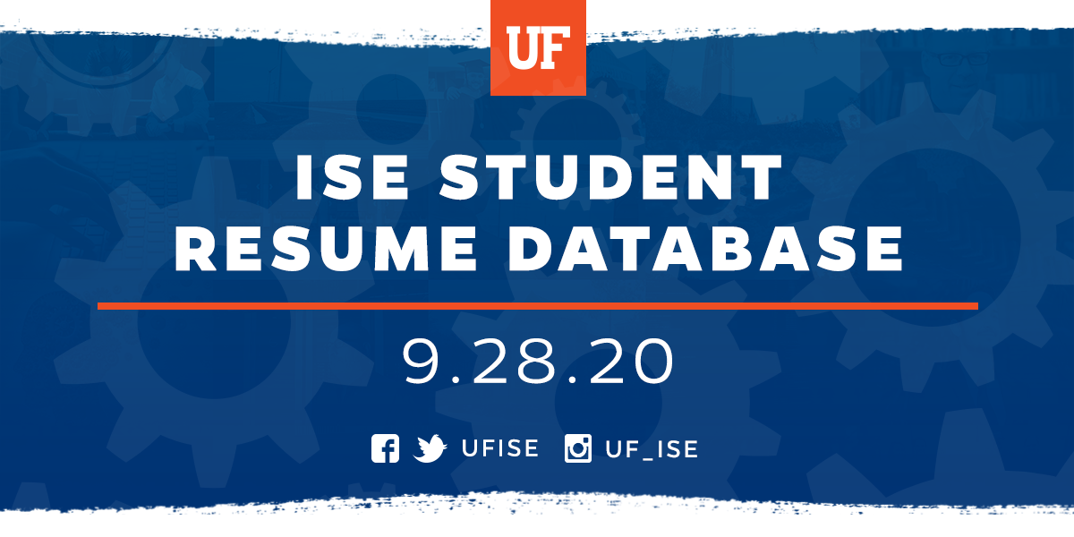 Fall 2020 UF ISE Career Fair