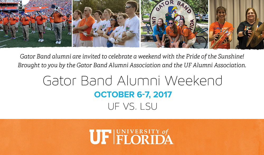 Gator Band Alumni Weekend 2017