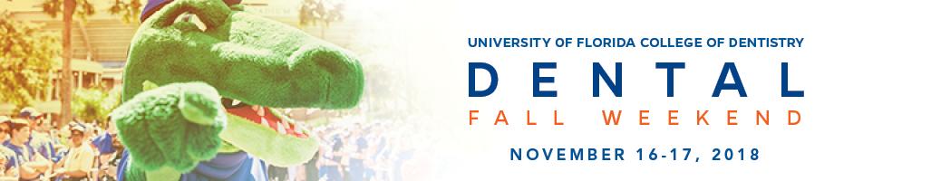 2018 UF Dental Fall Weekend & Reunions