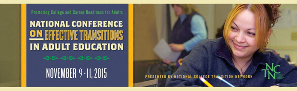 Effective Transitions in Adult Education Conference 2015