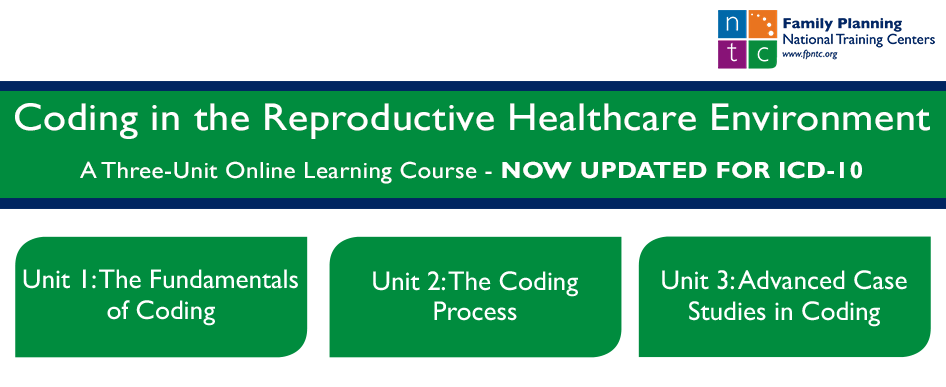Coding in the Reproductive Healthcare Environment