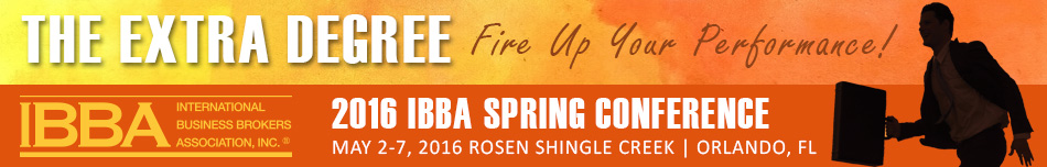 The IBBA 2016 Spring Conference
