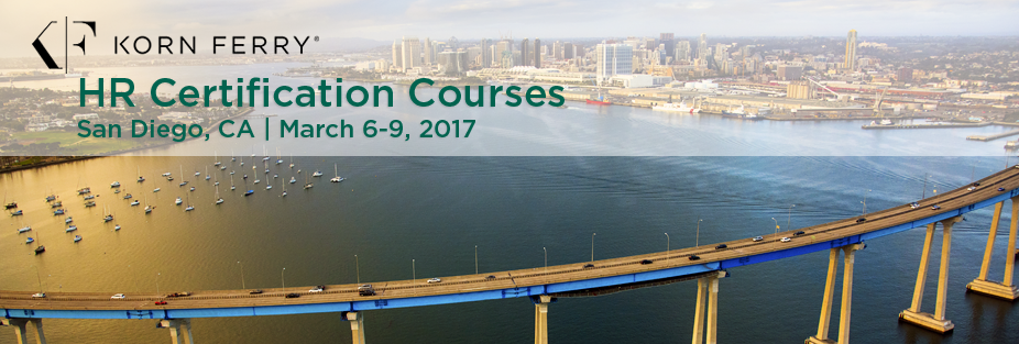 Korn Ferry Certifications - March 6-9, 2017 | San Diego, CA