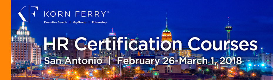 Korn Ferry Certifications - February 2018 | San Antonio, TX