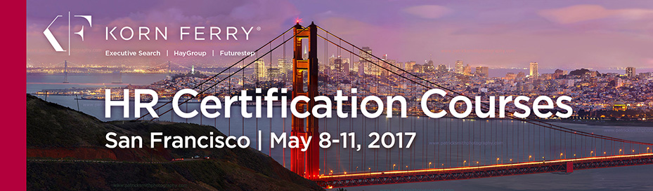 Korn Ferry Certifications - May 8-11, 2017 | San Francisco, CA