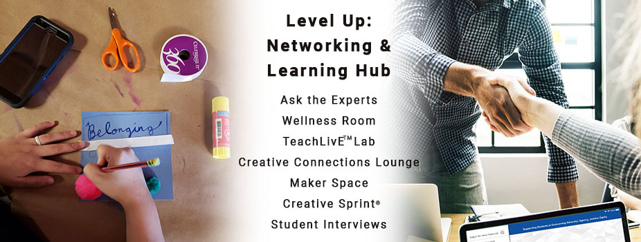 Level Up: Networking & Learning Hub