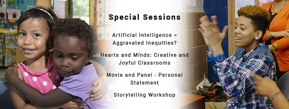 Special Sessions, Wednesday Afternoon