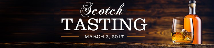 8th Annual AOG Single Malt Scotch Tasting