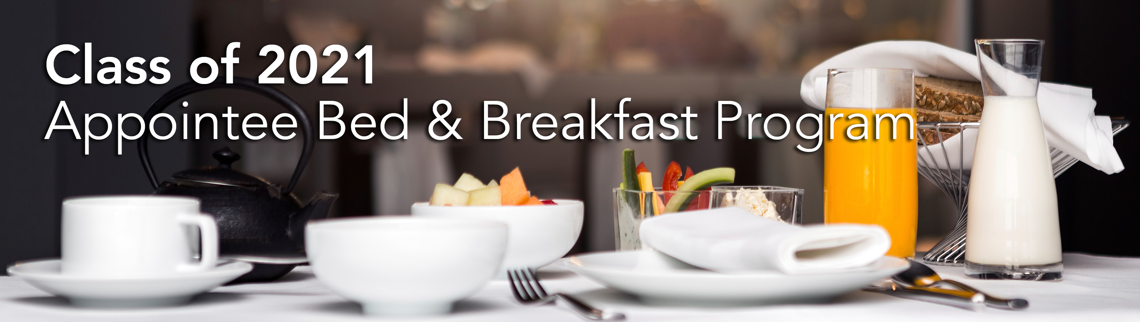 Prep School Bed and Breakfast Host Registration