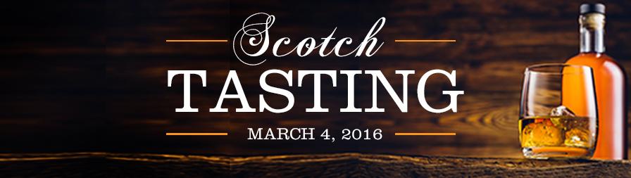 7th Annual AOG Single Malt Scotch Tasting